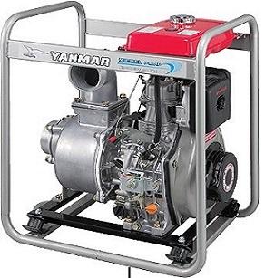 Yanmar diesel 2 inch water pump YDP20N 4 7 hp 550 lpm 32 m head
