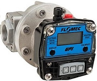 110.9922 Flomec OM015 oval gear flow meter digital display.jpg