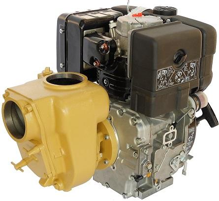 GMP 4 inch BSP(F) cast iron semi trash pump Yanmar L100 10