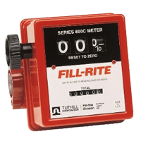 Fill Rite flow meters